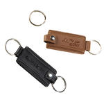 concord leather valet keytag