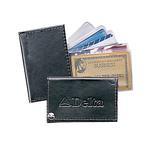 Atlantis leather fan-out card / photo case
