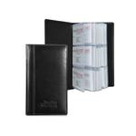 Atlantis Leather 3-Row Business Card File Case