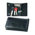 singnature leather try fold key case