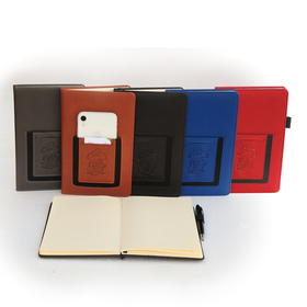 concord phone pocket 5 ½  x 8 ½   italian pu leather journal