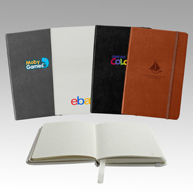 """classic italian thermo pu leather 3.75"""" x 5.63"""" 160 pages pocket journal"""
