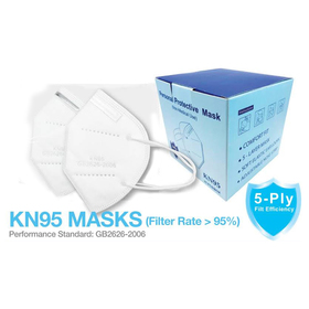 kn95 5-ply face mask
