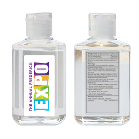 2 oz. 75% ethyl alcohol hand sanitizer