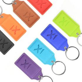 pro designer pu leather key chain