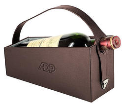 The Wine Caddy - Wine Carrier