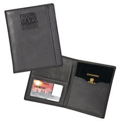 The Permit - Leather Passport Case