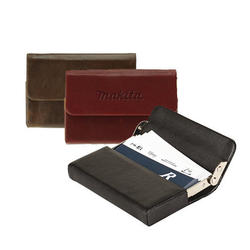 The Executive - Leather Business Card Case