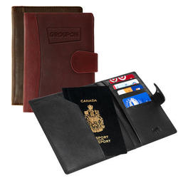 The Sabbatical - Leather Passport Case