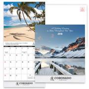2018 Scenic Mini Wall Calendar