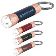 Chroma Softy Rose Gold Classic - LED Flashlight with Keyring - ColorJet