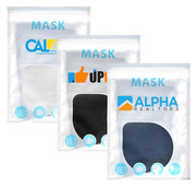 Urban 2-Layer 100% Cotton Value Mask - Full Color Label on Pouch