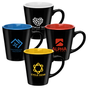 12 oz Two-Tone Ceramic Mug