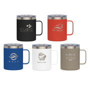 Glamping - 14 oz. Double-Wall Stainless Mug - Laser