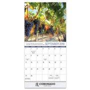 2019 Scenic Mini Wall Calendar