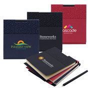 Quincy Sticky Note Pad w/ Pen - ColorJet