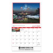 2020 American Spirit Wall Calendar