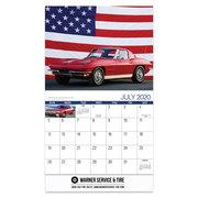 2020 American Muscle Cars Wall Calendar