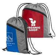 Geneva Drawstring Backpack - 210D Polyester