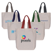 Uptown - Cotton Tote Bag - ColorJet