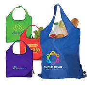 Capri - Foldaway Shopping Tote Bag - 210D Polyester - ColorJet