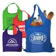 Capri - Foldaway Shopping Tote Bag - 210D Polyester