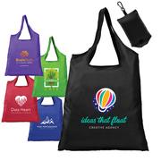 Santorini - Foldaway Shopping Tote Bag - 210D Polyester - ColorJet