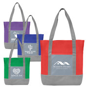 Glenwood - Non-Woven Tote Bag with 210D Pocket