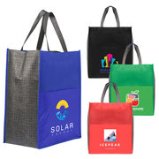 Rome - Non-Woven Tote Bag with 210D Pocket - ColorJet