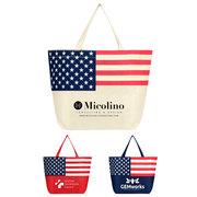 American Flag Non-Woven Tote Bag