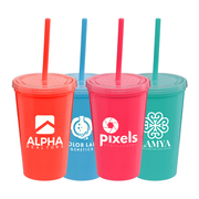 Explore Brights - 16 oz. Double-Wall Tumbler