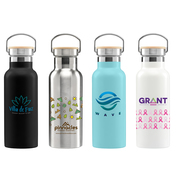 Oahu - 17 oz. Double-Wall Stainless Canteen Bottle - ColorJet
