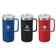 Glamping Tall - 17 oz. Double-Wall Stainless Mug - Laser
