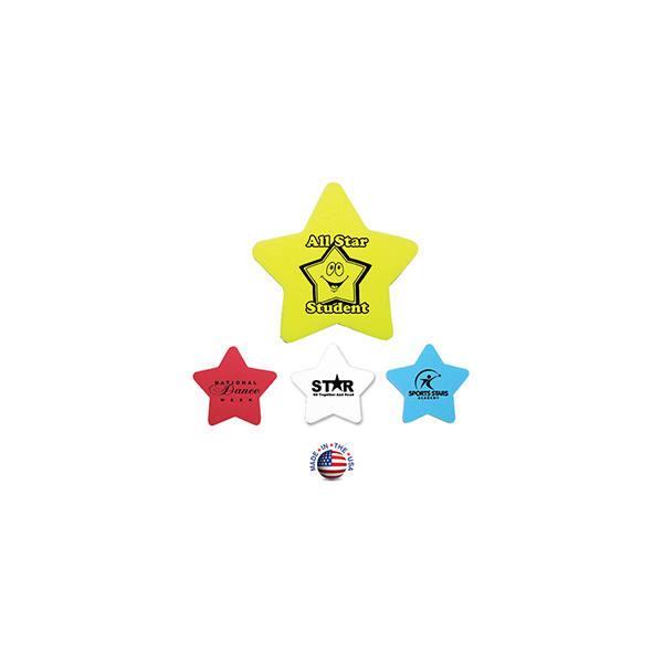 Die Cut Eraser - Star