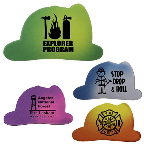 Mood Die Cut Eraser- Fire Helmet