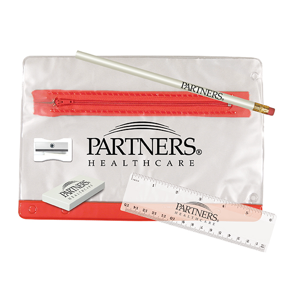 Clear Translucent School Kit