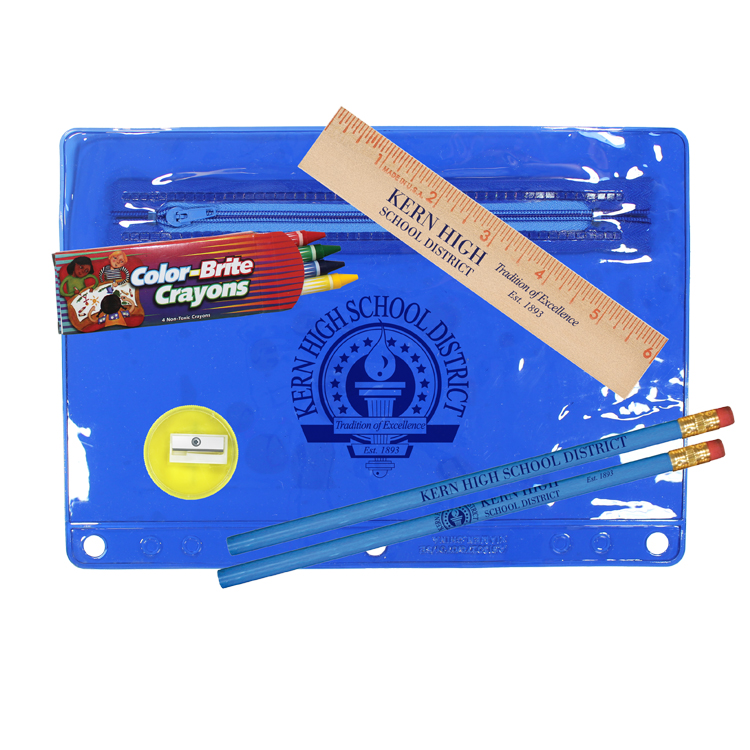 Premium Transparent School Kit