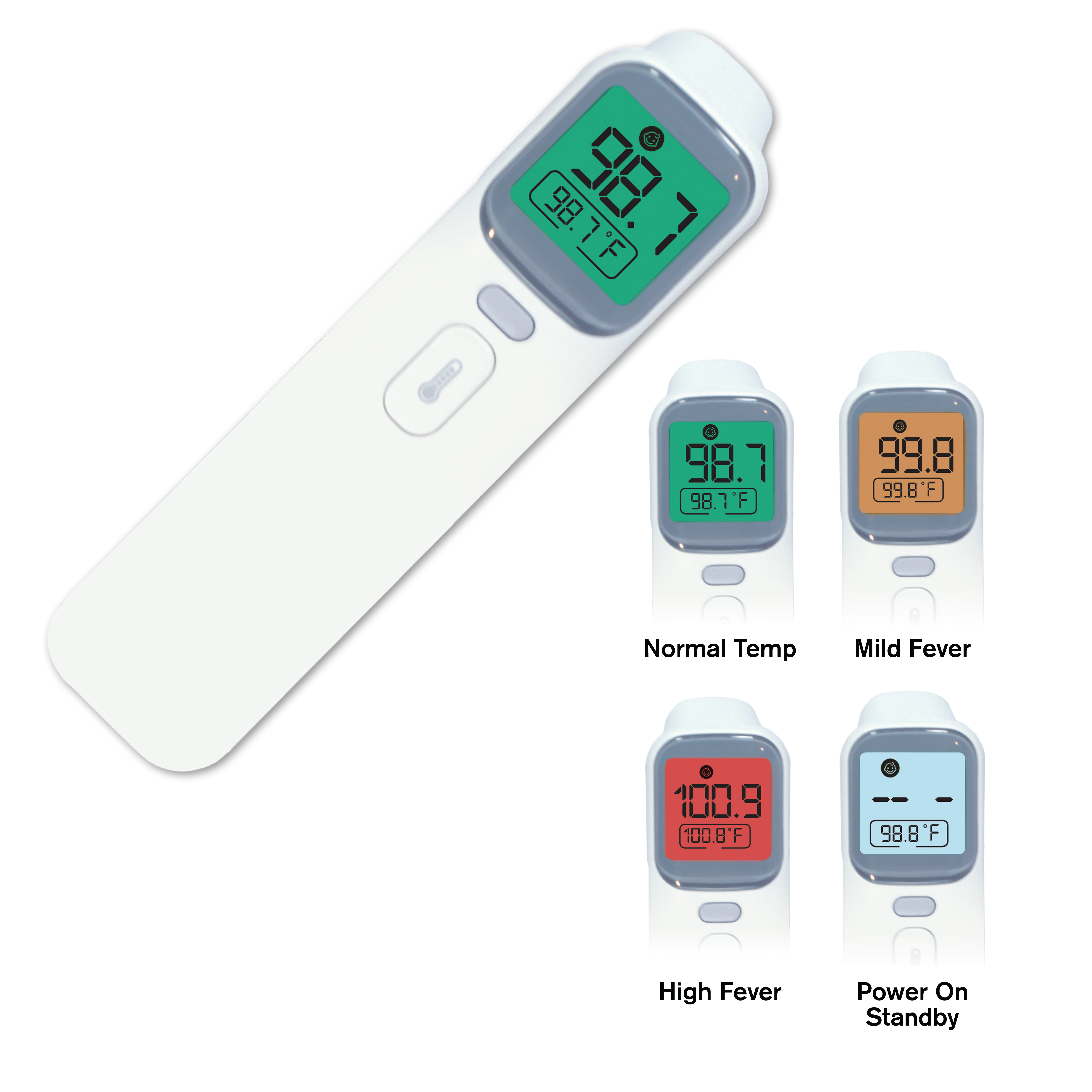 No-Contact Infrared Thermometer, Blank