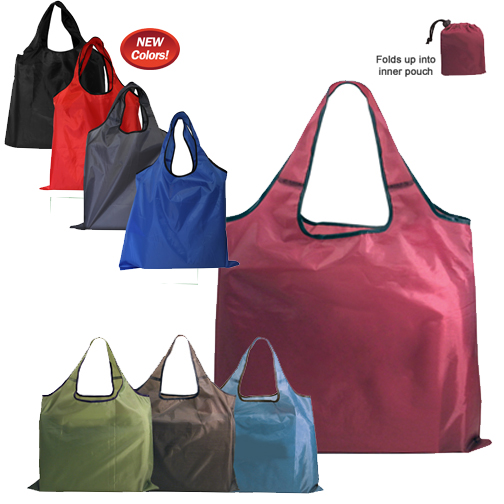 Blank, RPET Fold-Away Carryall