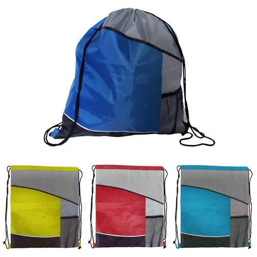 Blank, Varsity Drawstring Backpack