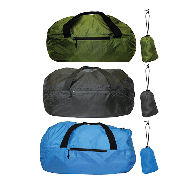 Blank, Otaria™ Packable Duffel Bag