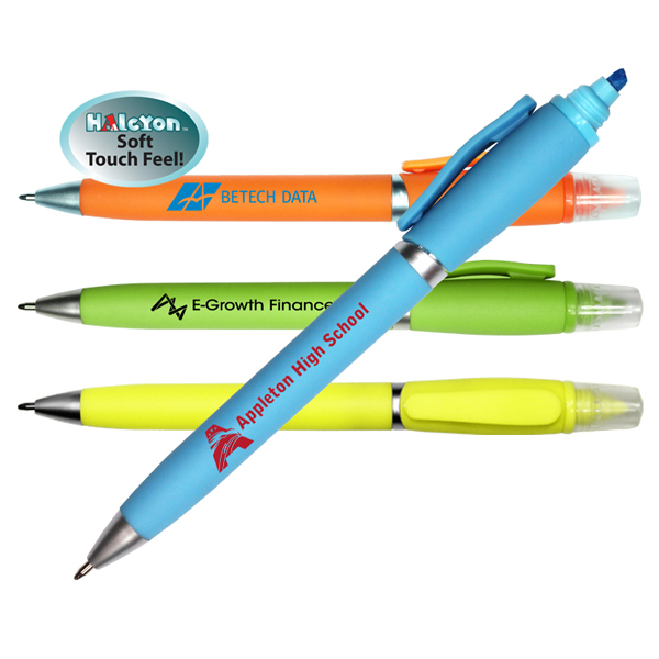 Halcyon® 2 in 1 Pen/Highlighter
