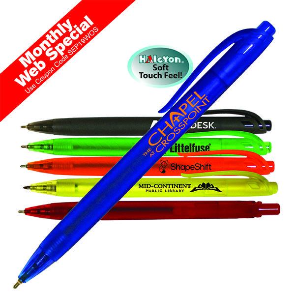 Halcyon® Translucent Click Pen