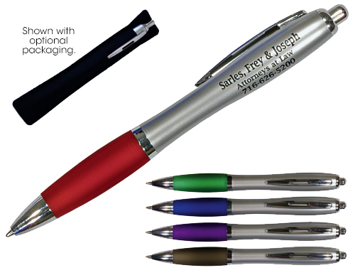 Silhouette Satin Grip Pen