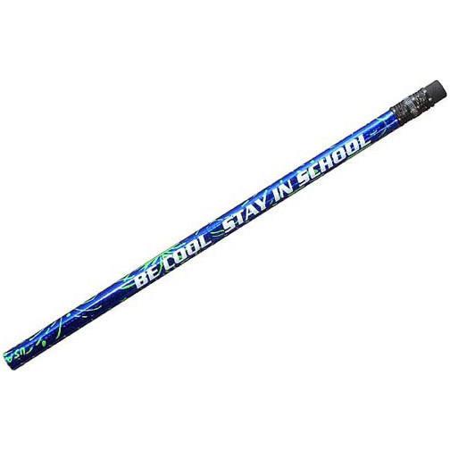 Blue Foil Sparkler Pencil- Closeout