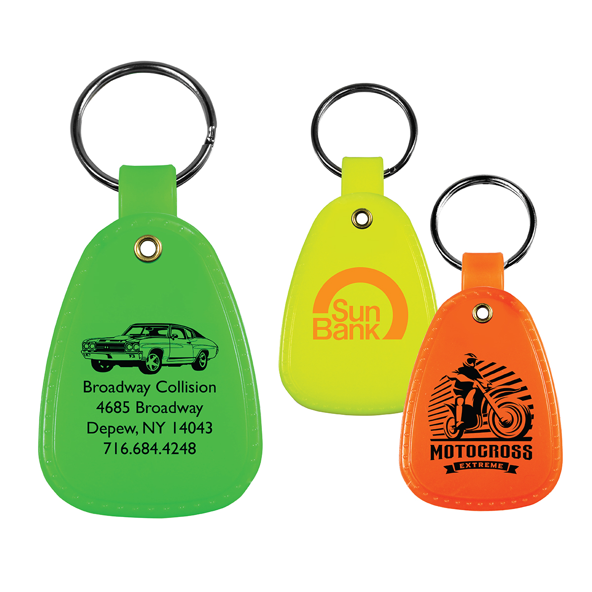 Western Saddle Key Tag