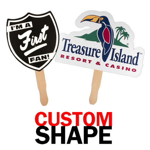 Custom Shape Hand Fan