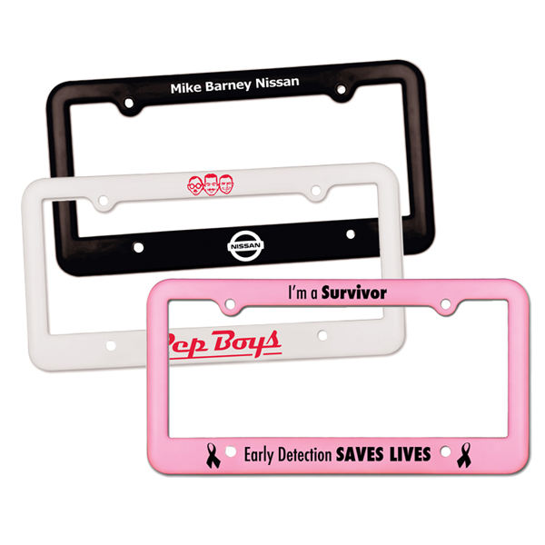 License Plate Frame - 4 Holes