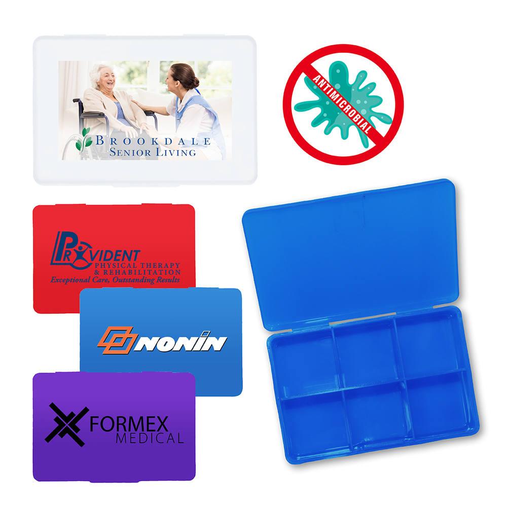 Antimicrobial Pill Box