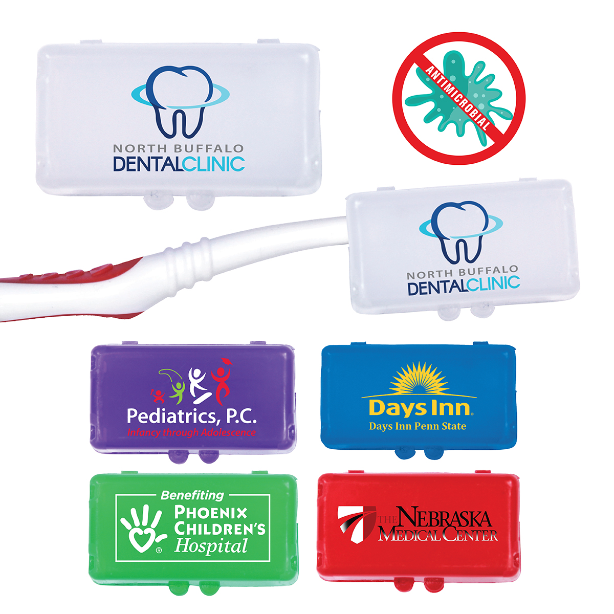 Antimicrobial Toothbrush Cover